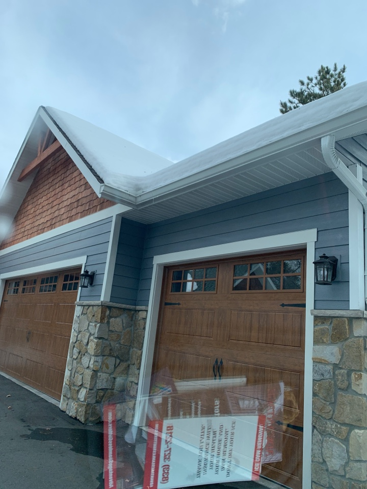 Merrifield, MN - Adding gutters to an existing customer of Advantage Seamless gutters Customers to call us again and again for more stuff is the most rewarding and the best compliment we can Asfoor thank you from Advantage Seamless gutters