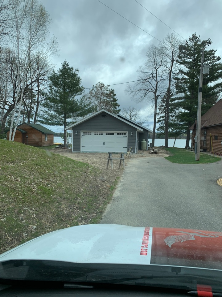 Longville, MN - Call Advantage Seamless Gutters today for a free rain gutter estimate Valor leaf guard protection.