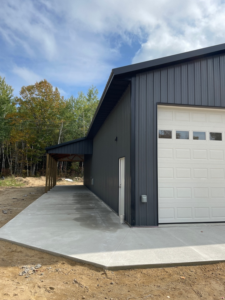 Walker, MN - Pole buildings are critical to use snow breaks or snow bars to protect your gutters and protect your building contact Advantage Seamless gutters your walker Park Rapids Akeley gutter experts