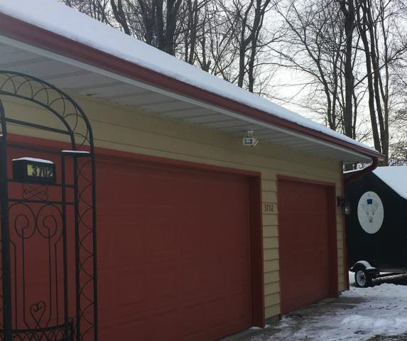 St. Cloud, MN - New custom color gutter and downspouts, the perfect accent for any home. Protect your house today.
