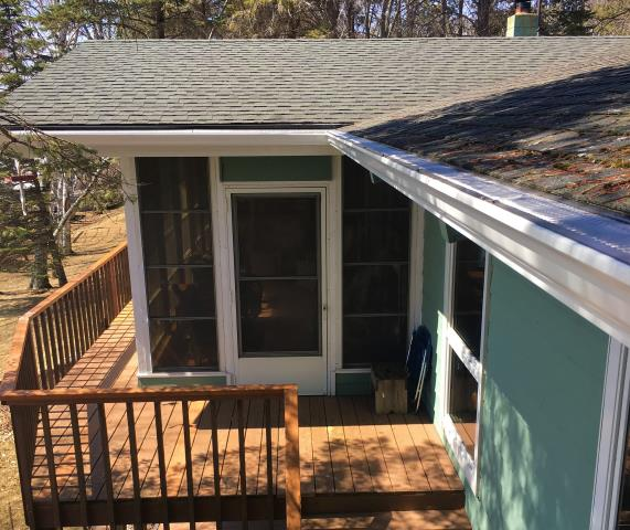 Aitkin, MN - Keep those troublesome leaves and pine needles out of you gutters with Valor Gutter Guard and professional gutter installation from Advantage Seamless gutters.