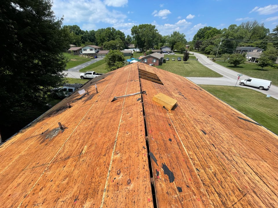 Knoxville, TN - Starting roof replacement