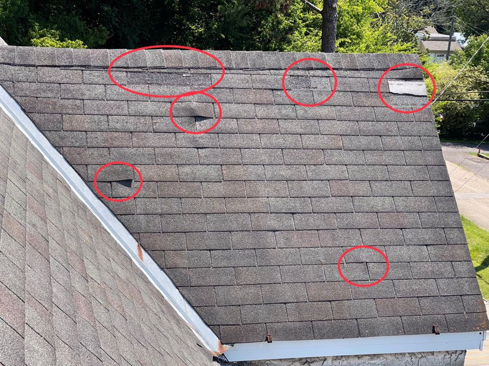 Knoxville, TN - Quoting roof replacement in Knoxville
