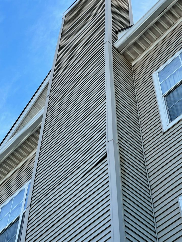 Knoxville, TN - Siding repair quote