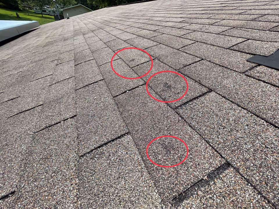 Knoxville, TN - Roof inspection