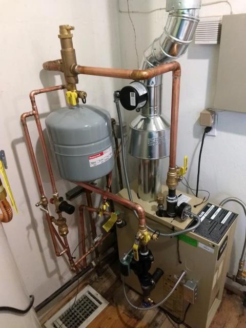 Albuquerque, NM - Replacement of residential boiler