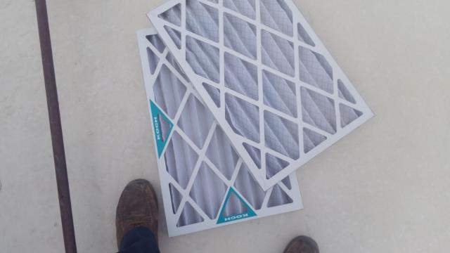 Albuquerque, NM - Cleaned and serviced AC unit and filters