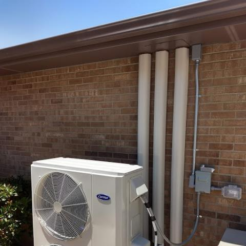 Albuquerque, NM - Installation of a ductless split system