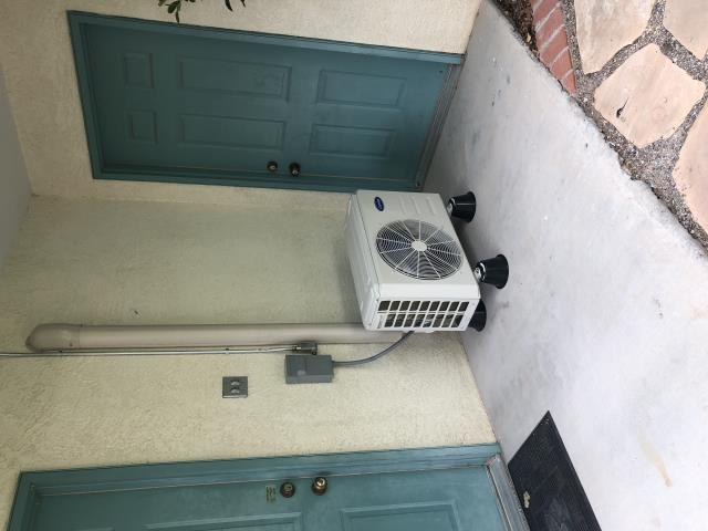 Albuquerque, NM - 1-1 Carrier ductless heat pump installation