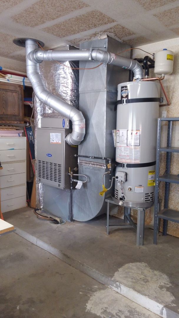 Albuquerque, NM - New furnace and water heater completed by AirPro.