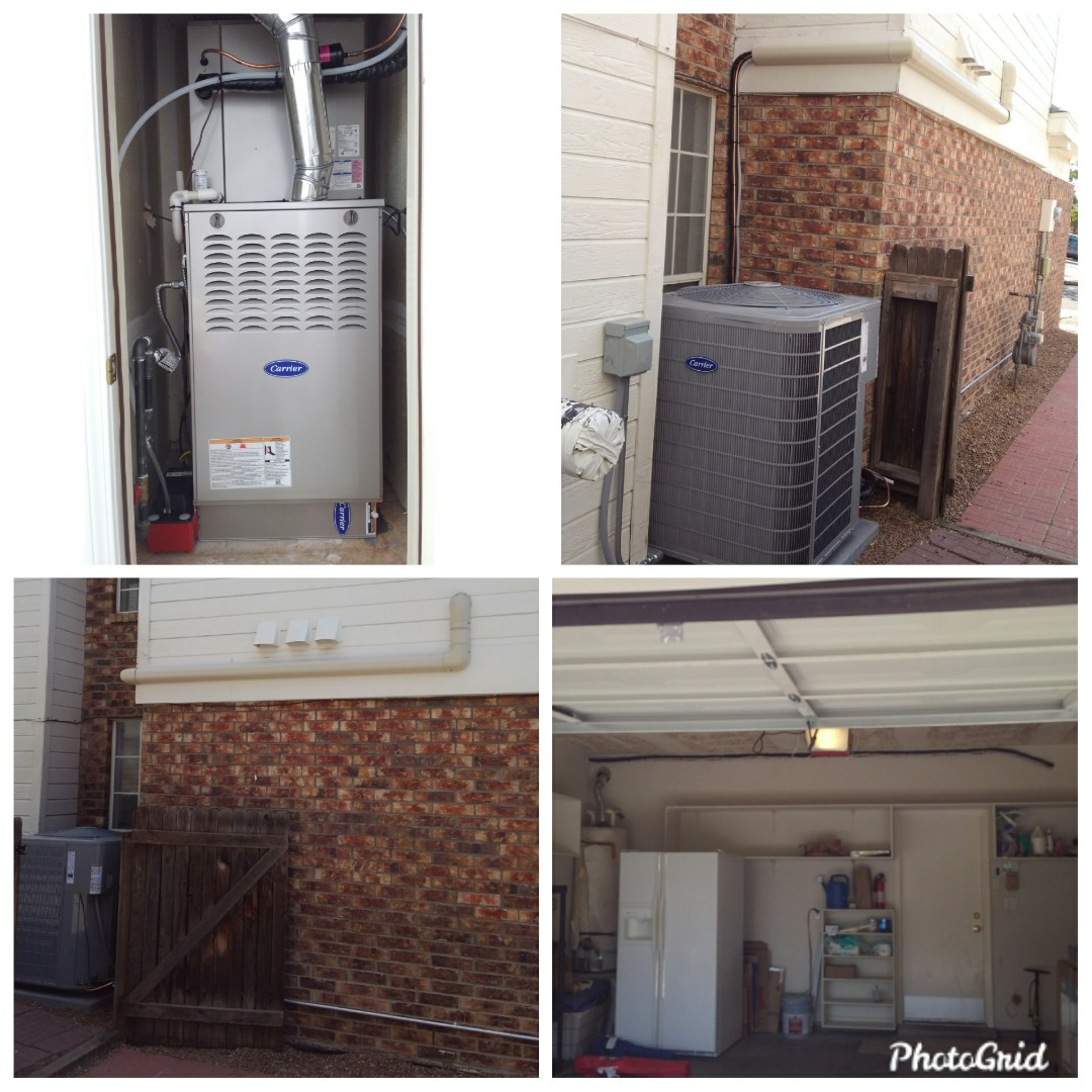 Albuquerque, NM - Swamp cooler to refrigerated air system done by AirPro.