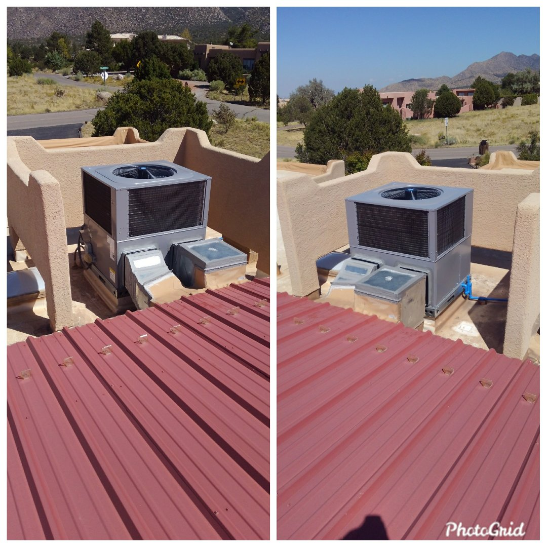 Albuquerque, NM - Package unit replacement done by AirPro.