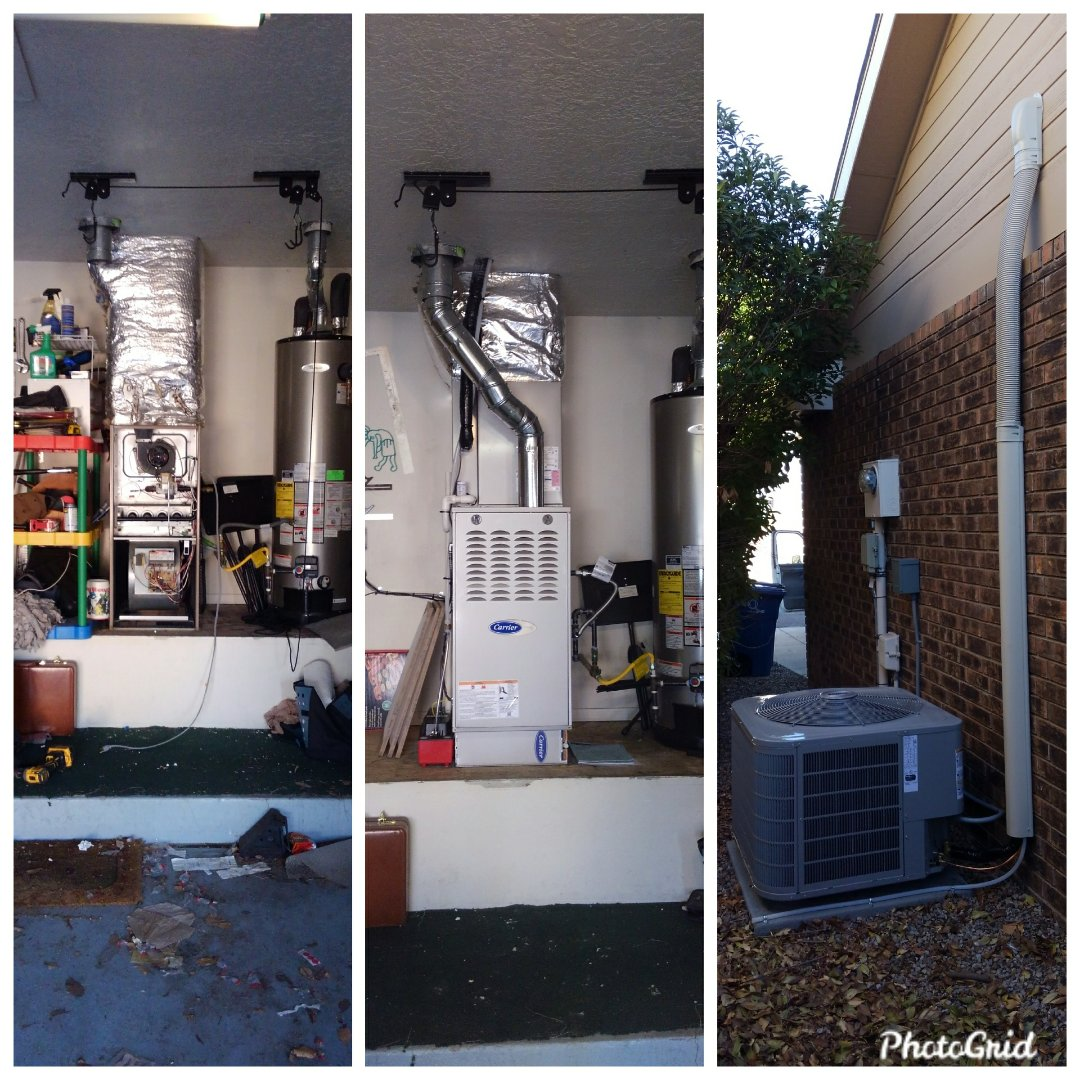 Albuquerque, NM - Furnace to split system done by AirPro.