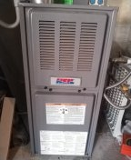 Albuquerque, NM - Replacing a draft induce motor on a Heil Furnace.