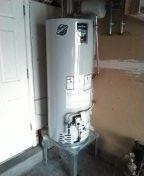 Albuquerque, NM - Installed new water heater.