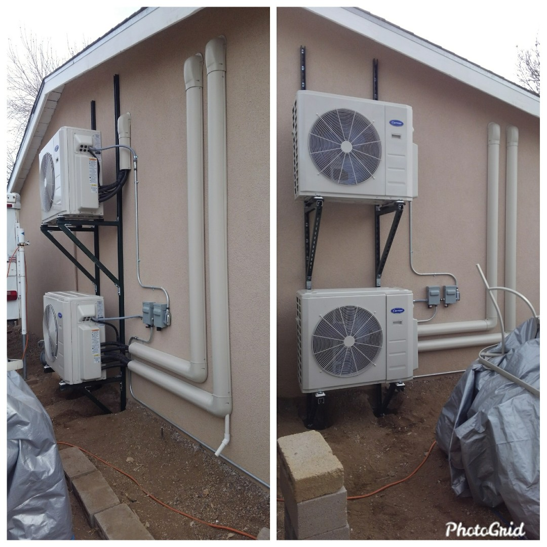Albuquerque, NM - Ductless split systems installed by AirPro.