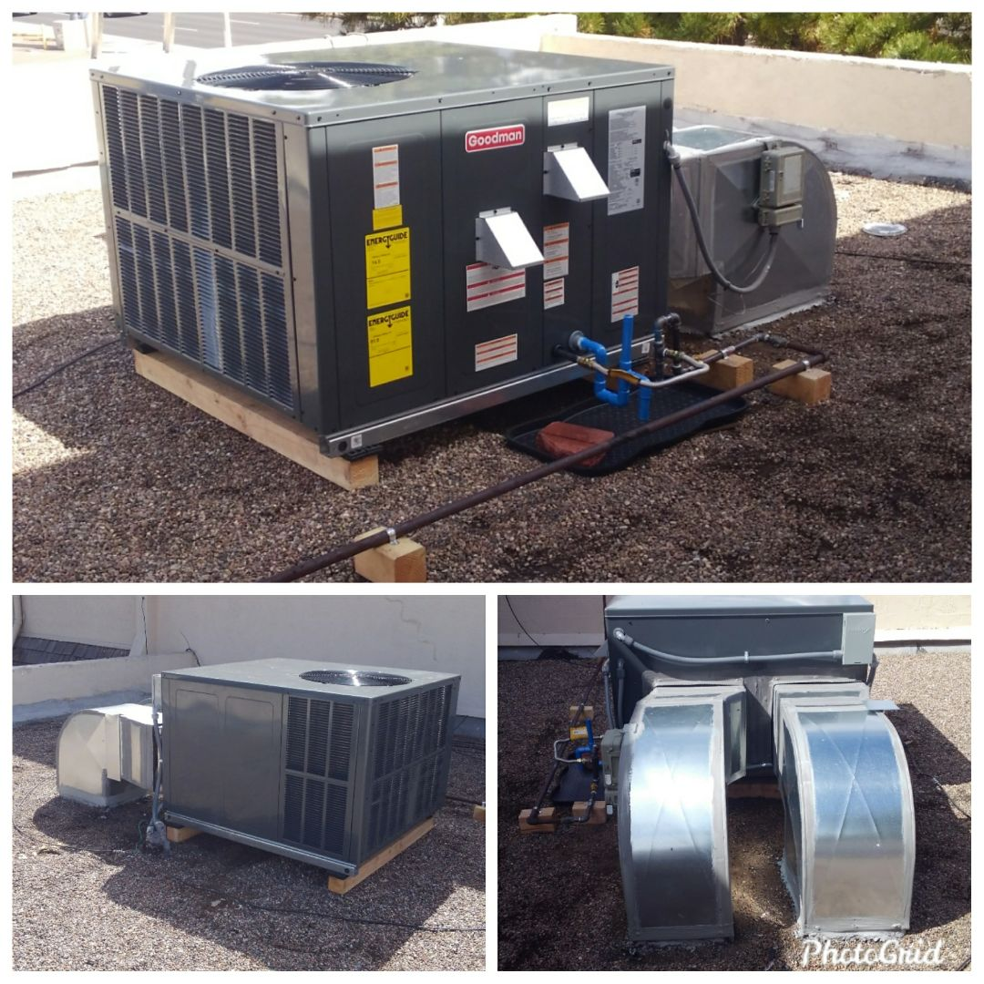 Albuquerque, NM - Air conditioning unit replacement by AirPro.