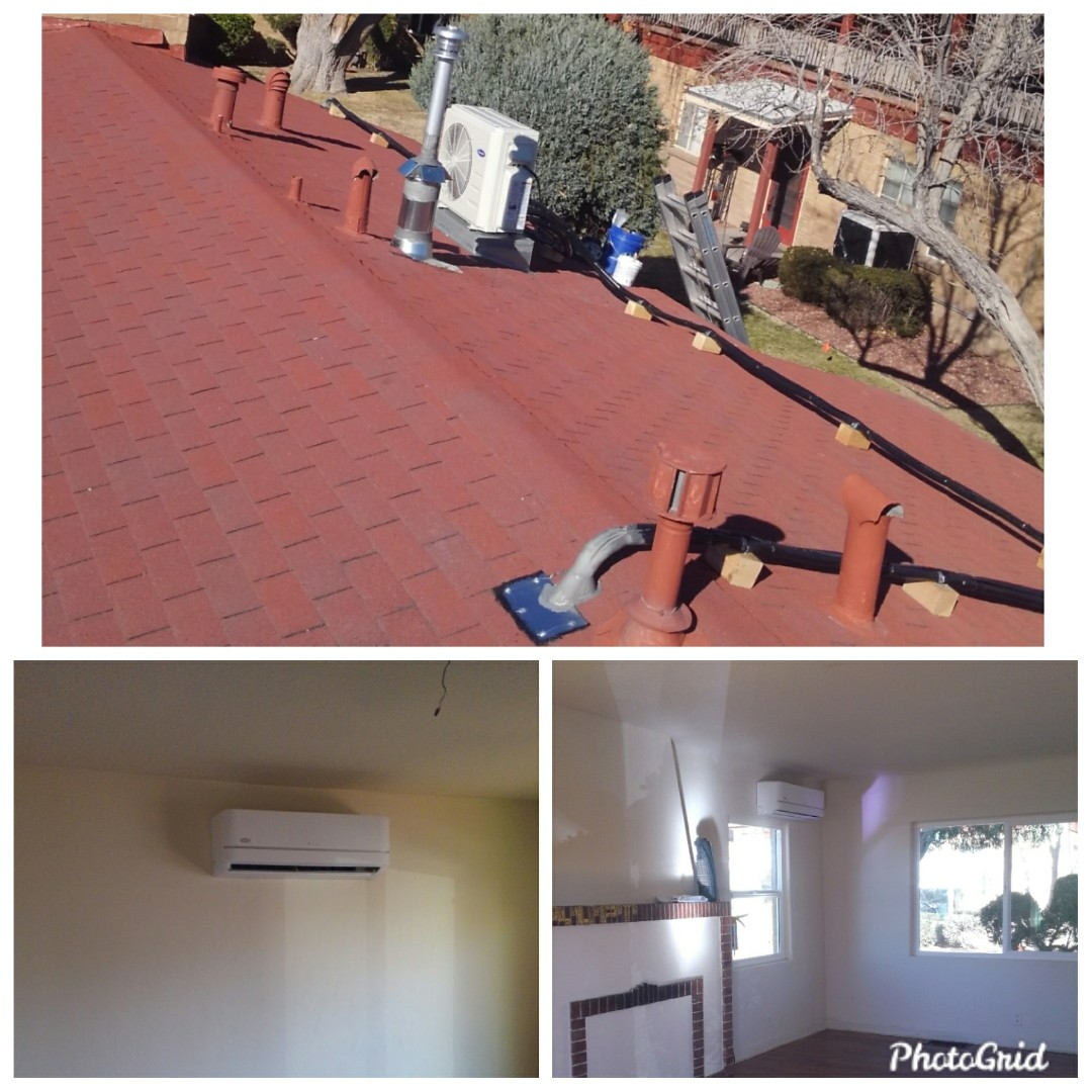 Albuquerque, NM - Ductless split system done by AirPro.