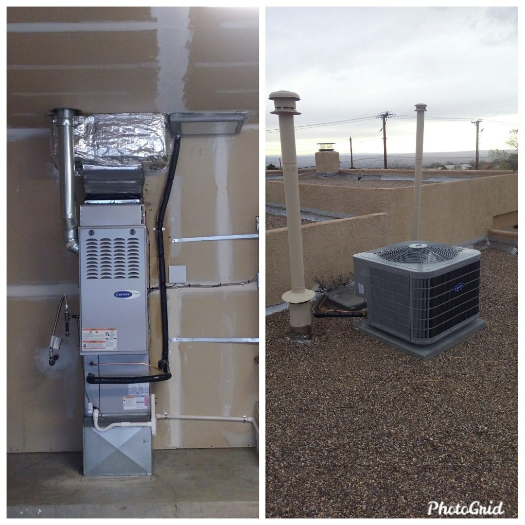 Albuquerque, NM - Swamp cooler to refrigerated air conversion done by AirPro.