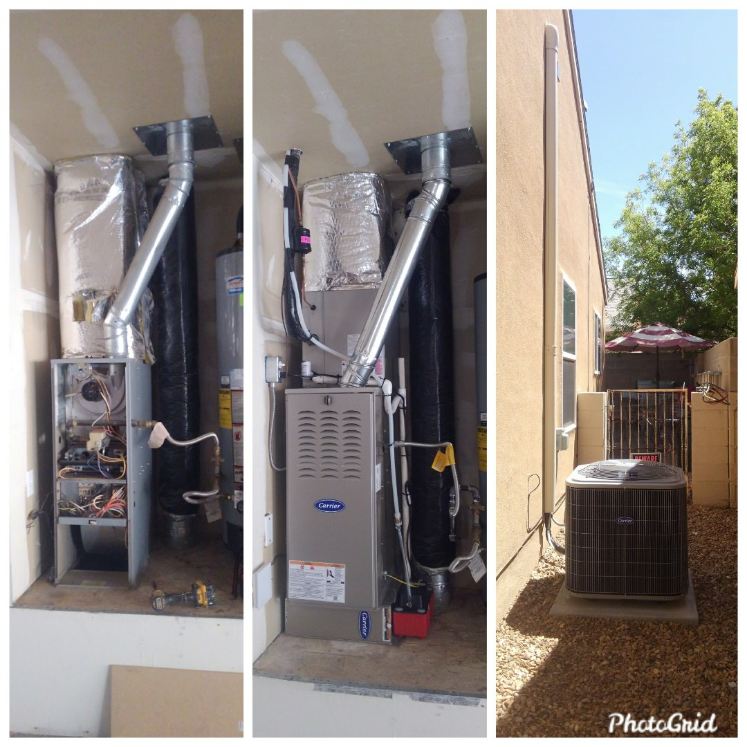 Albuquerque, NM - Air-conditioning conversion done by AirPro.