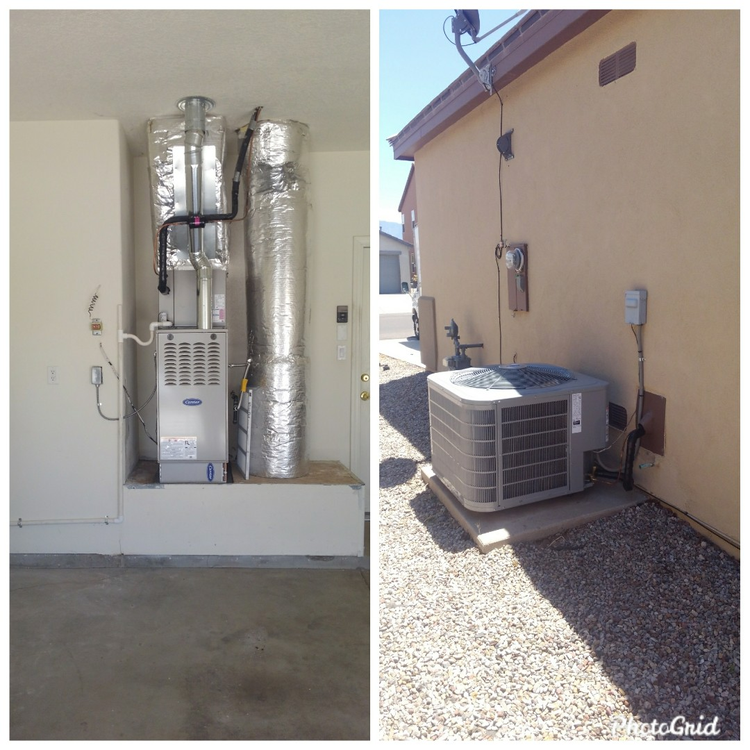 Rio Rancho, NM - Existing A/C system change out done by AirPro.