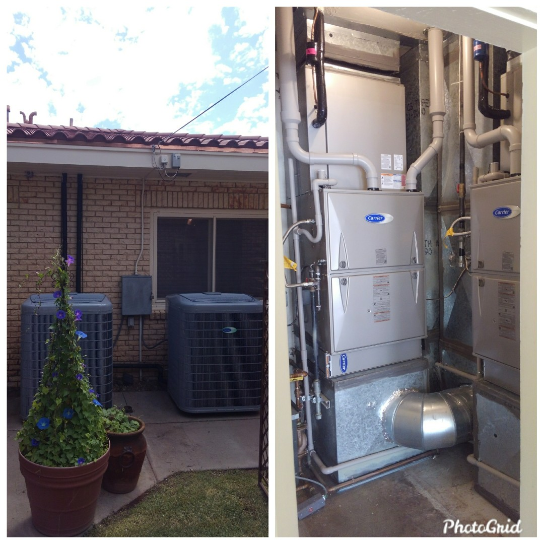 Albuquerque, NM - Upgrade on existing A/C split system done by AirPro.