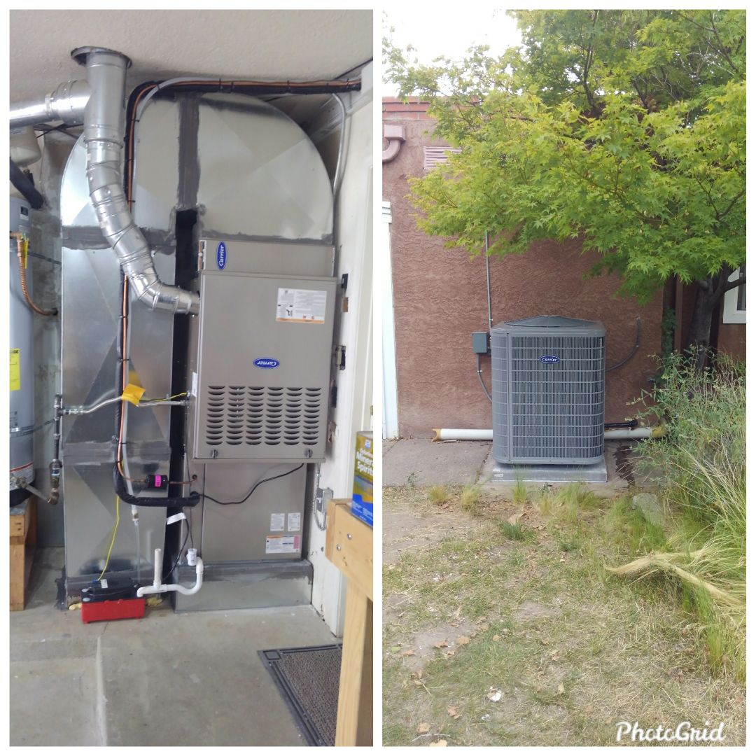 Albuquerque, NM - A/C split system conversion done by AirPro.