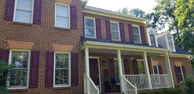 Chesterfield, VA - Replacing windows in this home soon! Skyline Windows will be replacing with the Okna 500dx, a good quality vinyl replacement window.