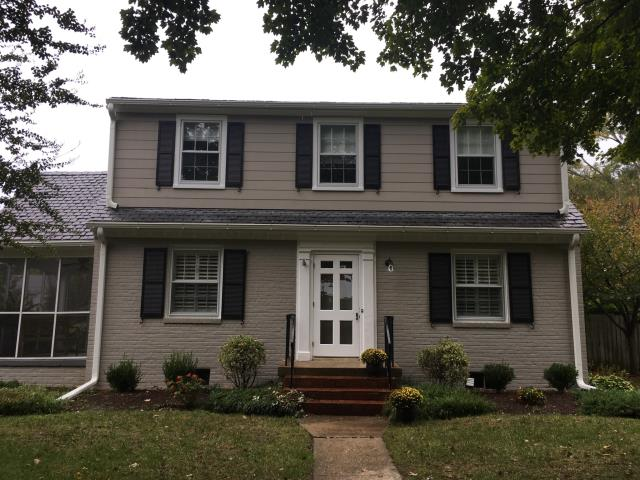 Richmond, VA - Replaced drafty storm windows with new Provia Town and County Storm windows for an energy efficient way to improve historic windows.