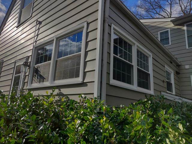 Richmond, VA - Finishing off a replacing windows project for this Richmond area home.