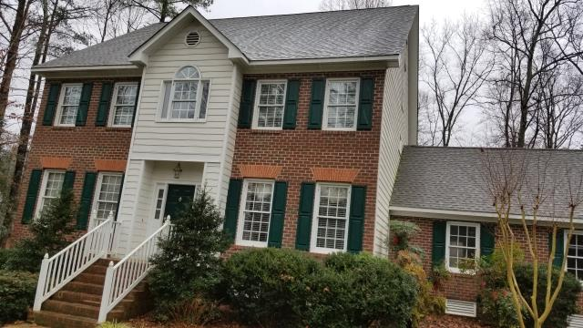 Chesterfield, VA - Replacing windows at this house with either a high quality vinyl window or composite.