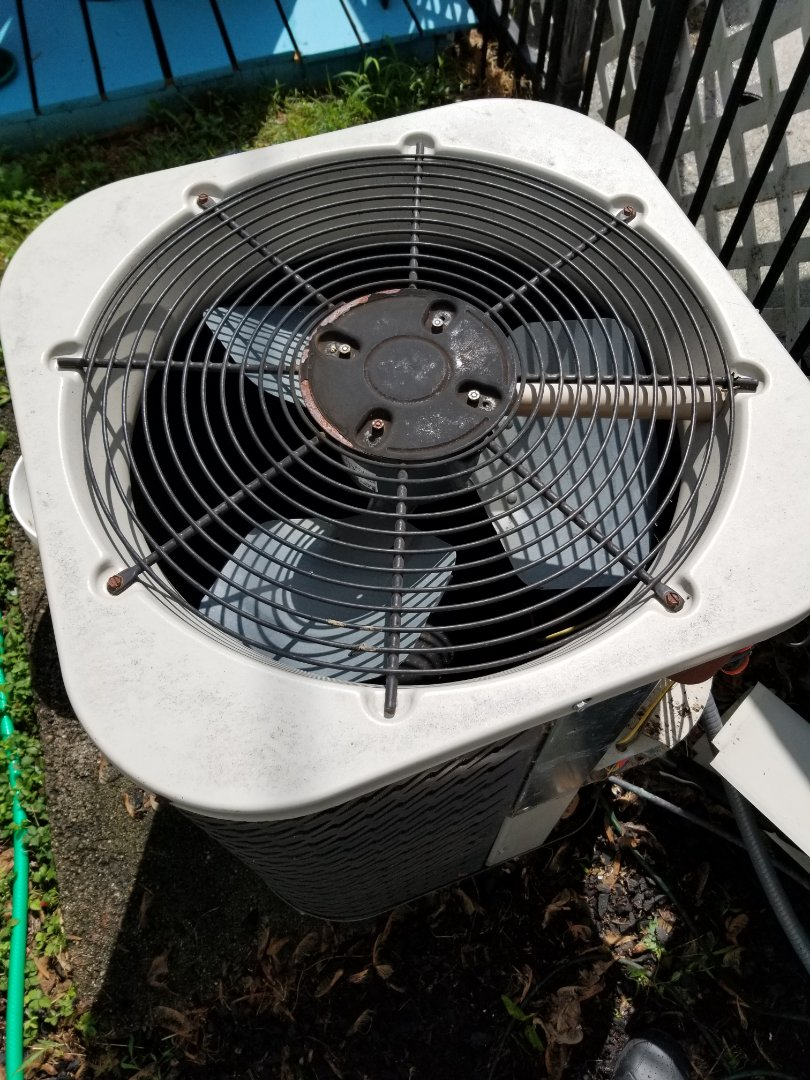 Philadelphia, PA - Air conditioning service call in Philadelphia. check Nordyne air conditioner. air conditioning unit is not cooling properly and freezing up. recharge unit with r22 freon. install internal leak sealer. check air conditioner operation.