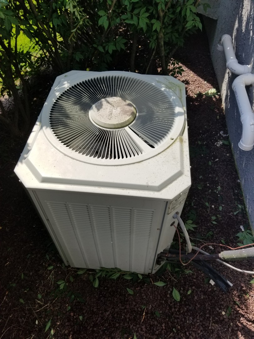 Morrisville, PA - Free estimate for air conditioning system replacement in Yardley. replace old Trane gas furnace and Trane central air conditioner with new Trane high efficiency S9V2 or XC95m gas furnace and high efficiency Trane XR17 or xv20i air conditioner. install new furnace in the basement. install new trane air conditioner on the back of the house.