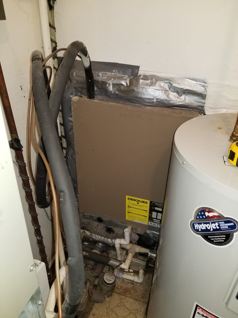 Langhorne, PA - estimate for new heat pump system in Langhorne. install new through the wall NCP heat pump unit. install new air handler.