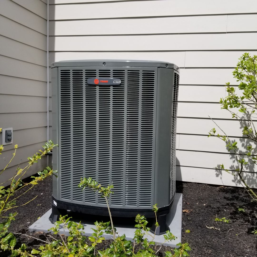 Doylestown, PA - Heat pump annual service call in Doylestown. performed tune-up service for Trane XV18 heat pump. cleaned and check system charge and operation.