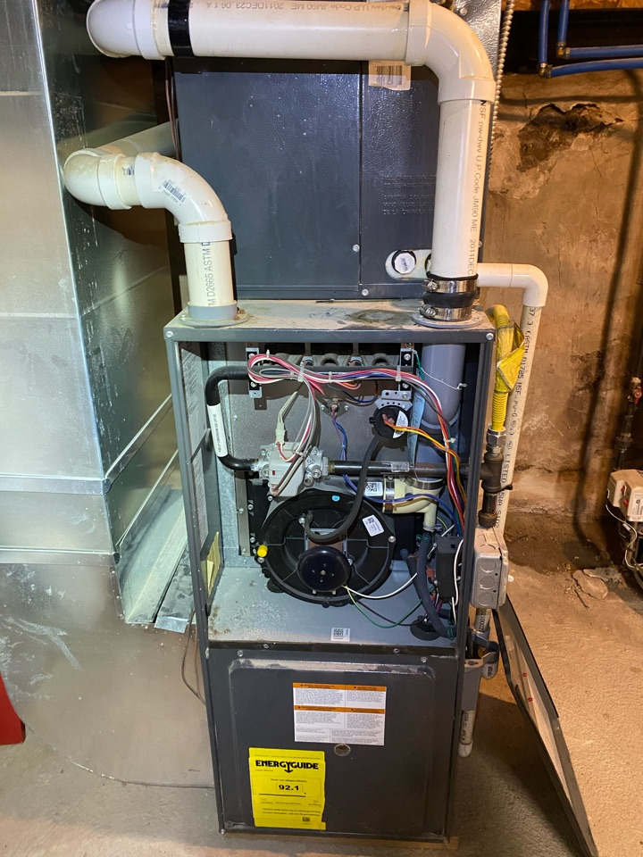 Philadelphia, PA - Furnace service call. Pressure switch replacement .