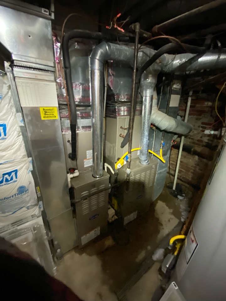 Philadelphia, PA - Perform A/C service for 2 Carrier units .