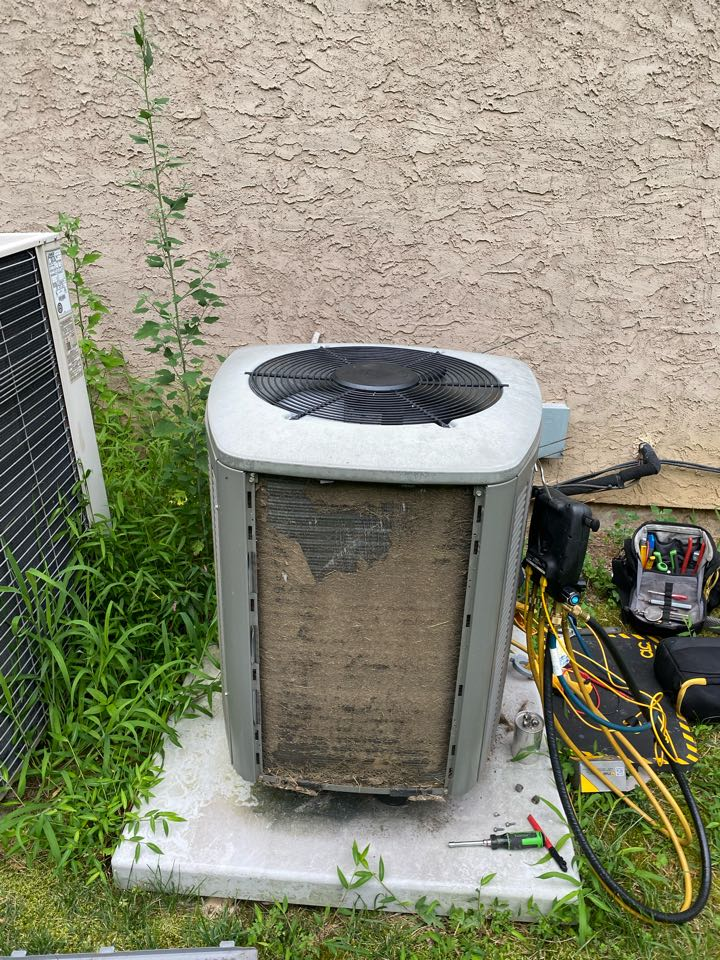 New Hope, PA - Performed AC service for 5 lennox systems