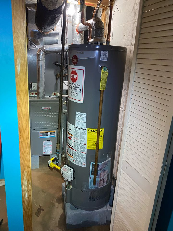 Warminster, PA - Perform water heater and furnace installation .