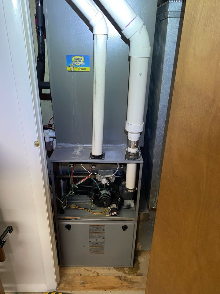 Perform furnace tune-up for Carrier system .