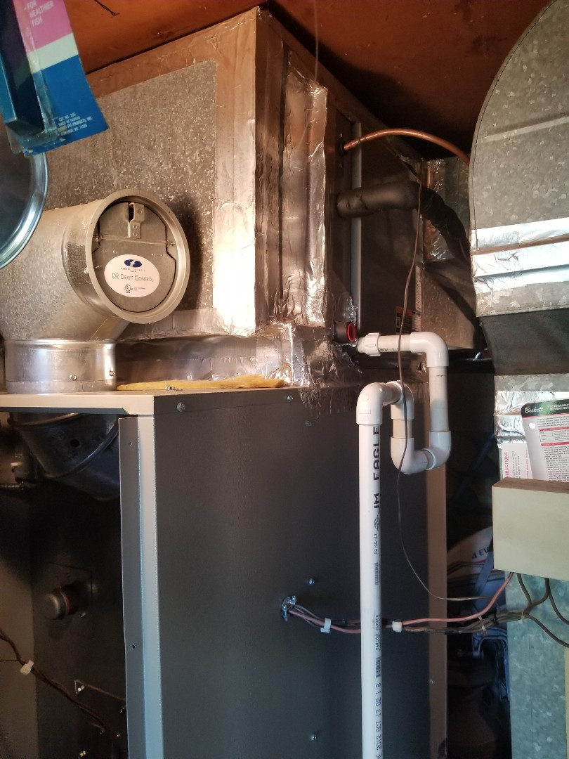 Philipstown, NY - Heil AC not cooling properly, thought to be bad txv expansion valve. Found system with airflow issue and overcharged with r410a freon