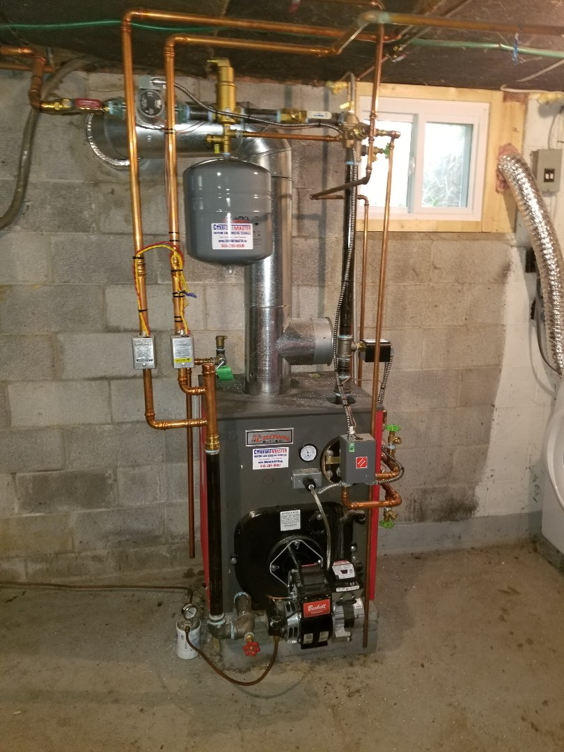Crown Boiler Tune up and cleaning.