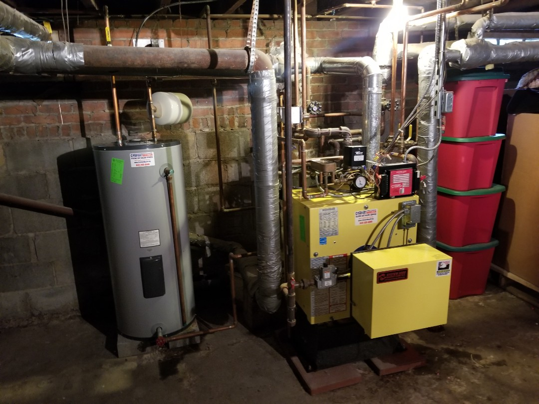 Poughkeepsie, NY - System 2000 Boiler with Water Heater Maintenance. Found Anode Rod and Scale Stopper needed replacement and changed.