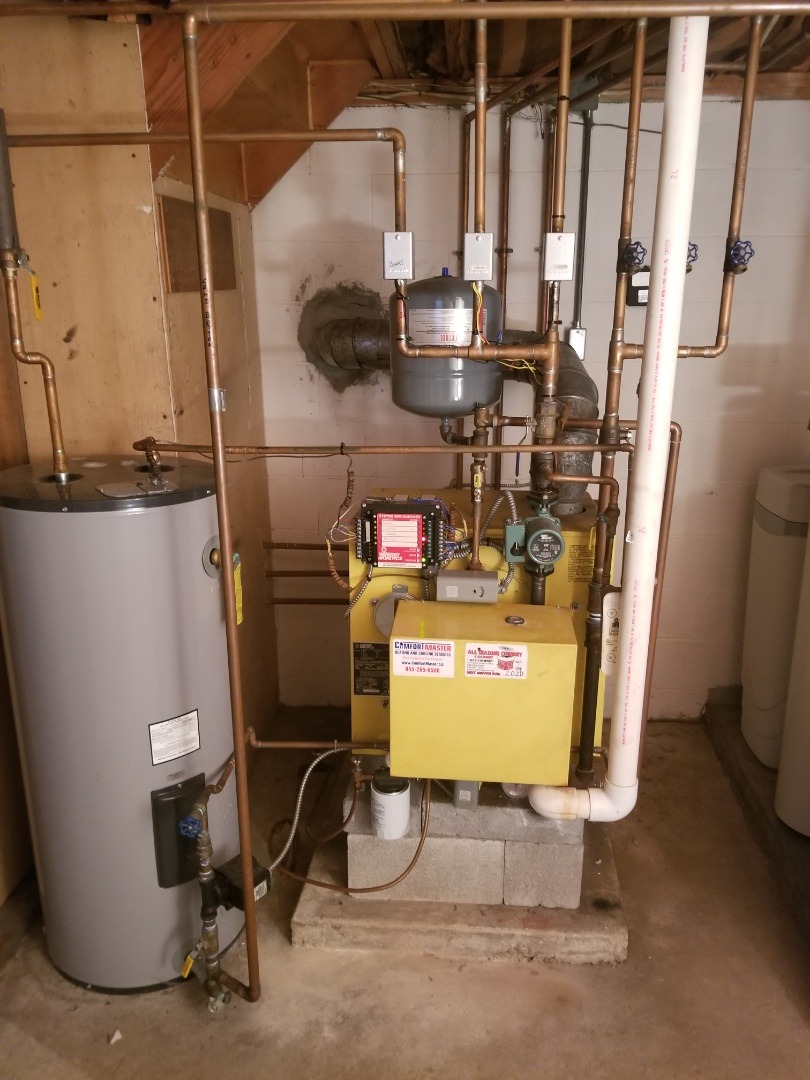 Energy Kinetics System 2000 Boiler Tune up.