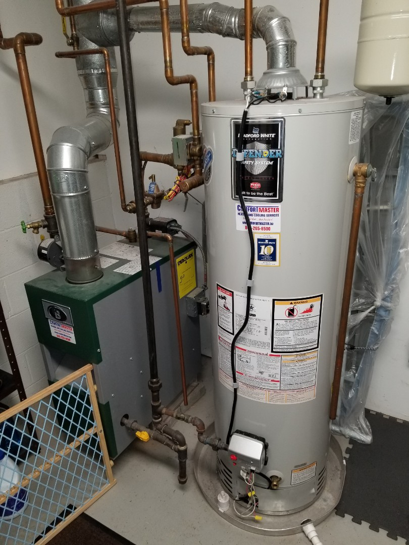 Fishkill, NY - No hot water. Pilot out and needed to be relit. Bradford White Water Heater