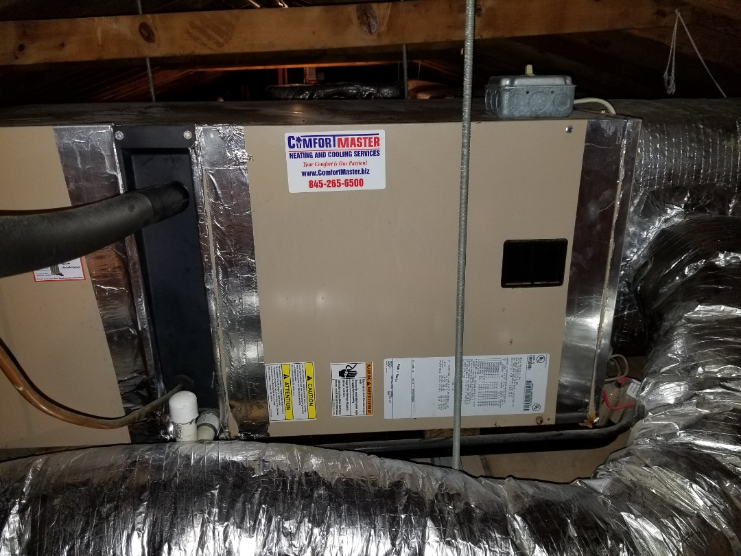 Cold Spring, NY - York Air Conditioning system checkup.