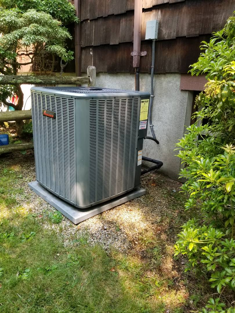 Putnam Valley, NY - Amana ac condenser and air handler systems annual maintenance.