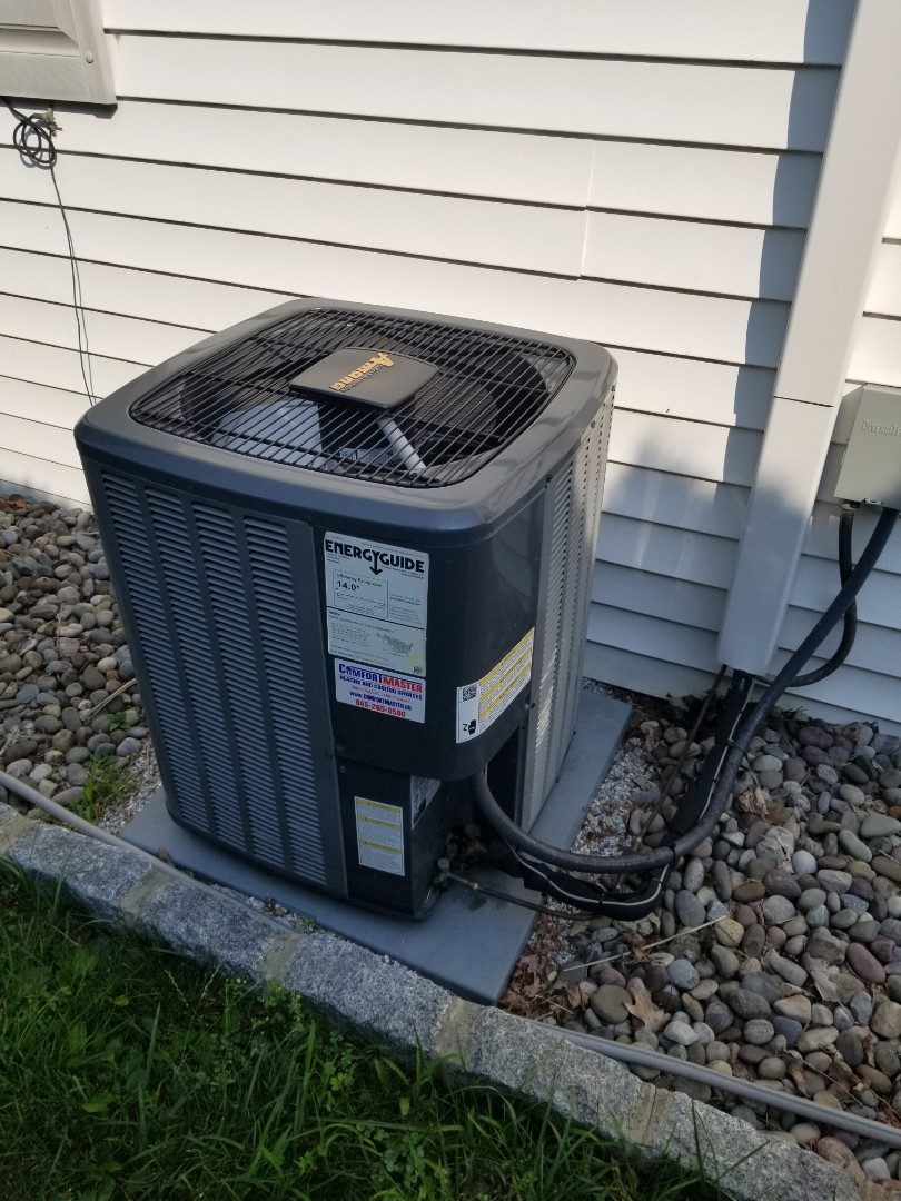 Amana Air Conditioning System Maintenance.