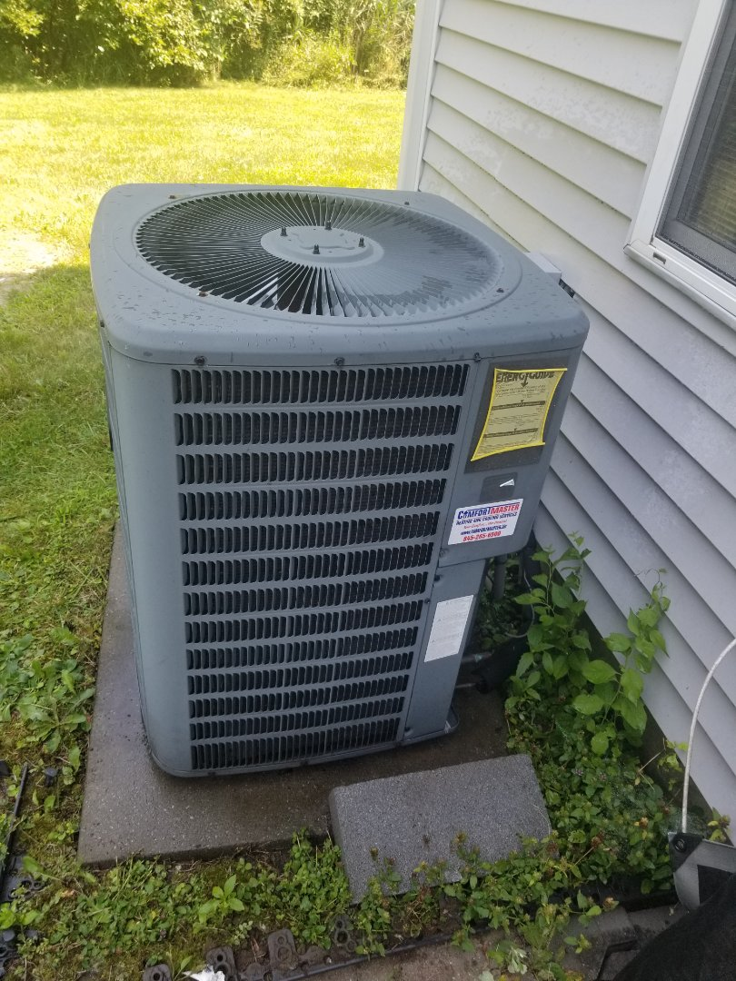 Amana heatpump not cooling on second floor. Found not enough airflow, or grills to serve room. Either another duct needs to be installed, or a supplemental unit for room