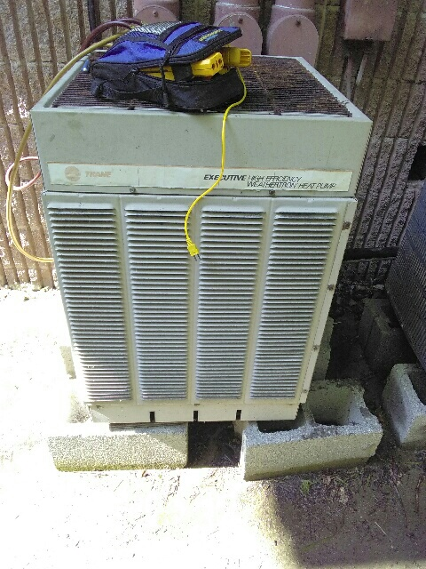 Cold Spring, NY - Old Trane air conditioner not blowing cold air.